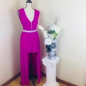 Other - Crystal Sky Elegant Jumpsuit & Romper SZ 11.